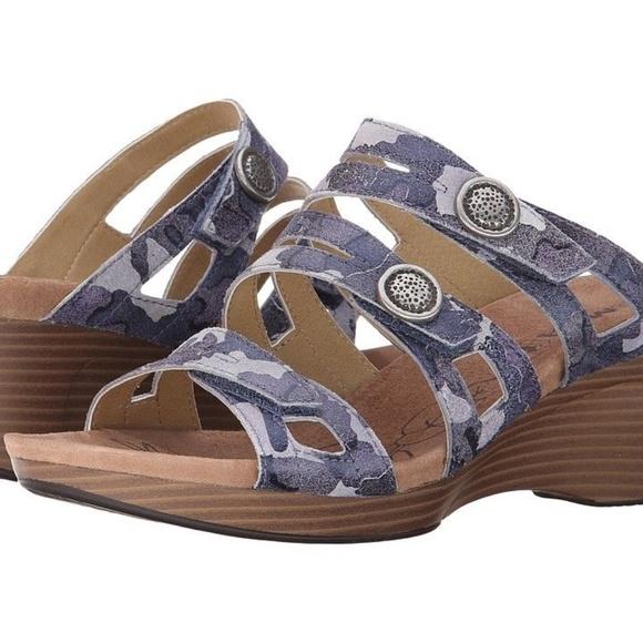 093af24dd9781 ROMIKA Jamaika 02 Ocean Camo Sandals sz 5.5